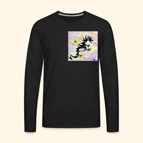 Logo Of Life Designs - Men's Premium Long Sleeve T-Shirt