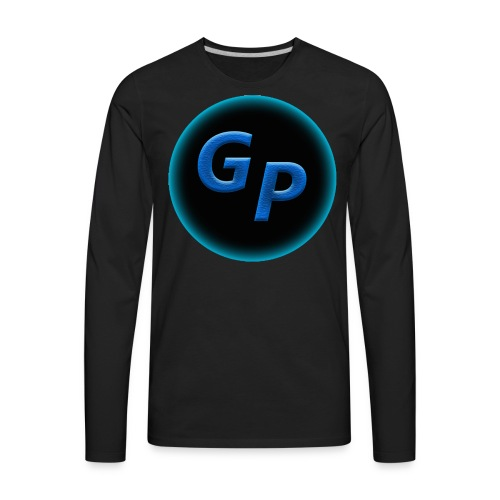 Large Logo Without Panther - Men's Premium Long Sleeve T-Shirt