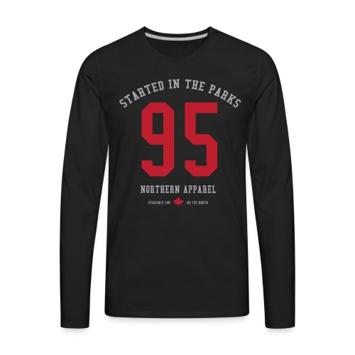 Started In The Parks - Men's Premium Long Sleeve T-Shirt