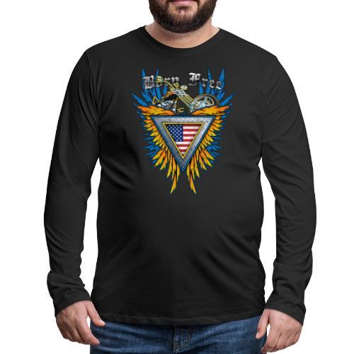 Born Free - Men's Premium Long Sleeve T-Shirt