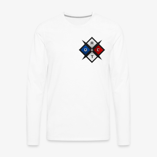 RTQC Logo - Men's Premium Long Sleeve T-Shirt