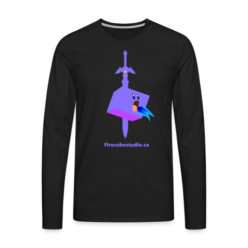 Fire Cube Studio - Men's Premium Long Sleeve T-Shirt