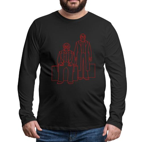 Marx-Engels Forum Berlin - Men's Premium Long Sleeve T-Shirt