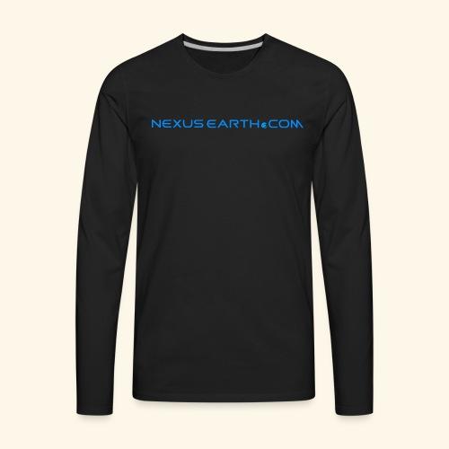 Nexus Earth - Men's Premium Long Sleeve T-Shirt