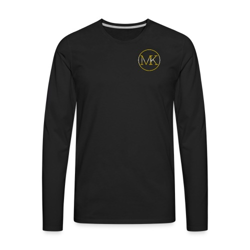 24MK (Black Tee-Shirt) - Men's Premium Long Sleeve T-Shirt