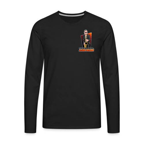 Cartoon Logo - Men's Premium Long Sleeve T-Shirt