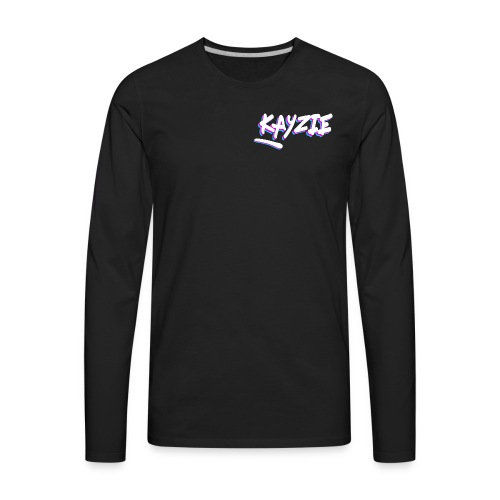 Neon KayZie - Men's Premium Long Sleeve T-Shirt