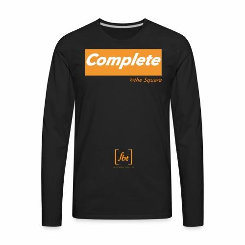 Complete the Square [fbt] - Men's Premium Long Sleeve T-Shirt