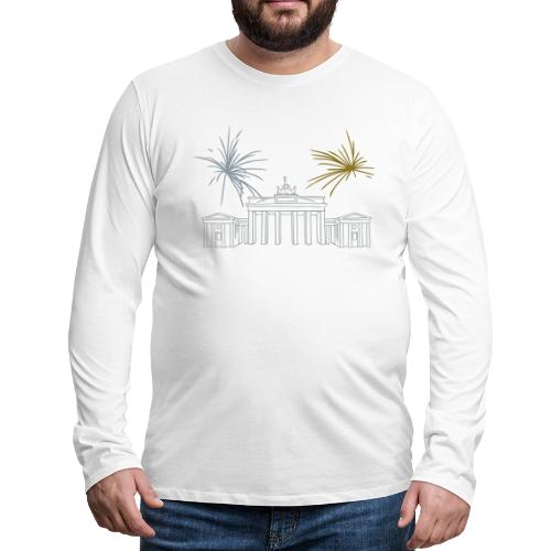 Brandenburg Gate Berlin - Men's Premium Long Sleeve T-Shirt