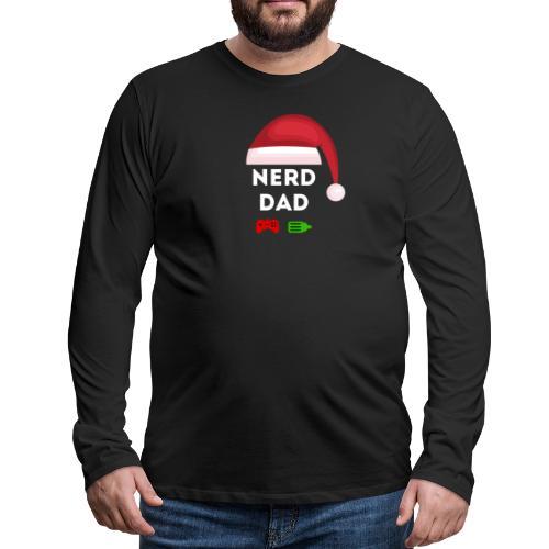 Nerd Dad Santa - Men's Premium Long Sleeve T-Shirt