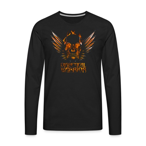 Diabetical Warrior - Men's Premium Long Sleeve T-Shirt