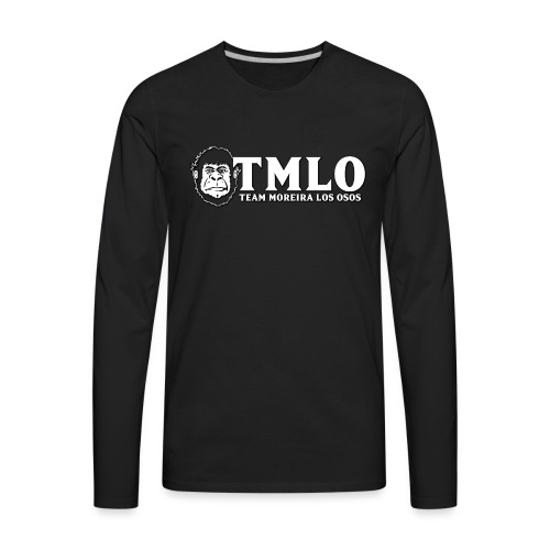 TMLO Gorilla - Front Only - Men's Premium Long Sleeve T-Shirt
