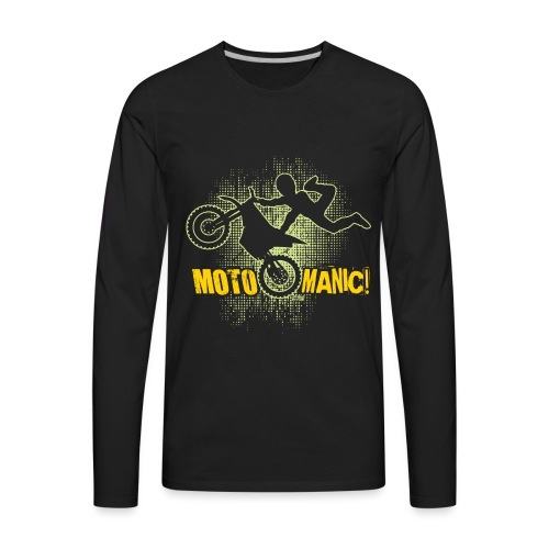 Motocross Maniac - Men's Premium Long Sleeve T-Shirt