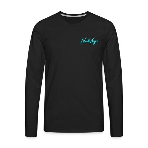 NickVlogz - Men's Premium Long Sleeve T-Shirt