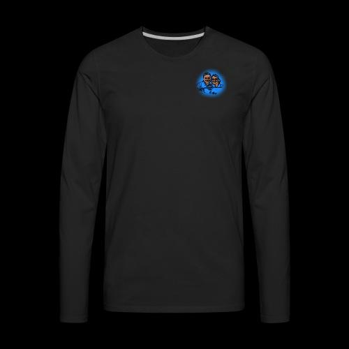 Smaller No Text Logo - Men's Premium Long Sleeve T-Shirt