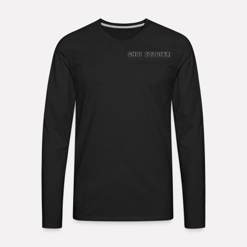 CH0i Soldier - Men's Premium Long Sleeve T-Shirt