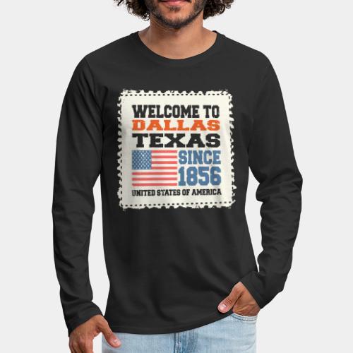 dallas texas usa - Men's Premium Long Sleeve T-Shirt