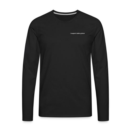 support 2 - Men's Premium Long Sleeve T-Shirt