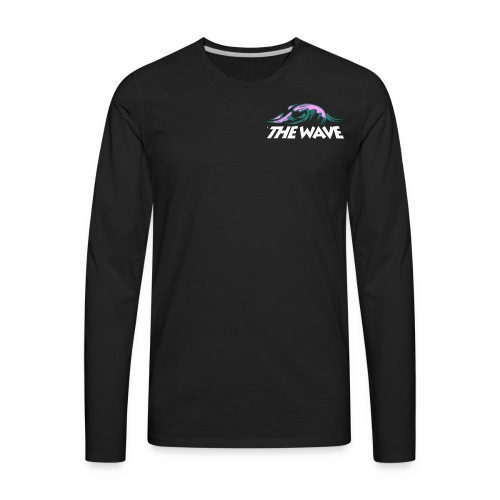 WHITE - Men's Premium Long Sleeve T-Shirt