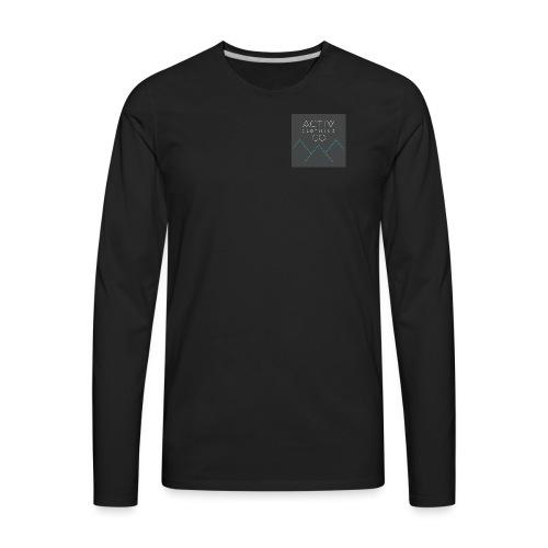 Activ Clothing - Men's Premium Long Sleeve T-Shirt