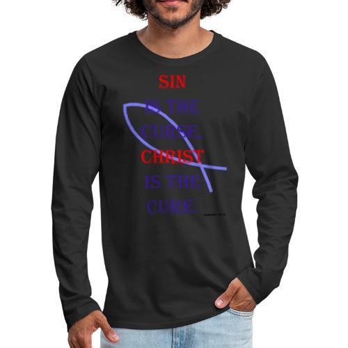 Sin The Curse - Men's Premium Long Sleeve T-Shirt