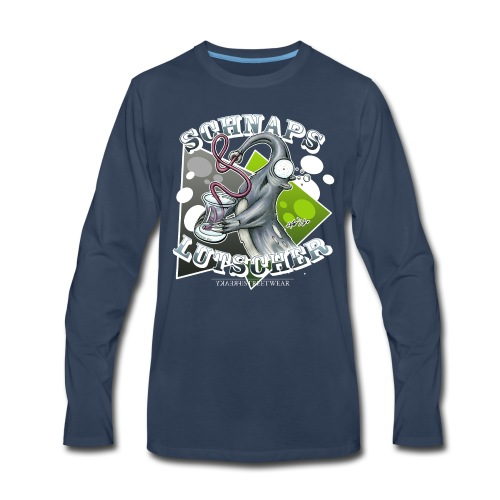 Schnapslutscher I - Men's Premium Long Sleeve T-Shirt