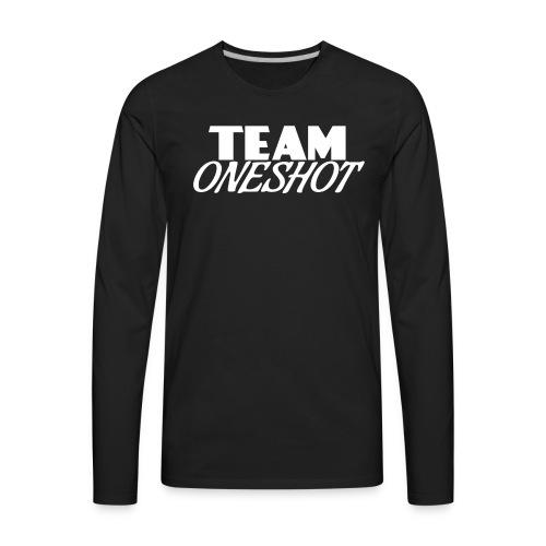 Team One Shot - All Colours - Men's Premium Long Sleeve T-Shirt