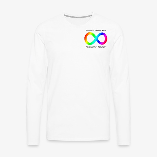 Embrace Neurodiversity - Men's Premium Long Sleeve T-Shirt