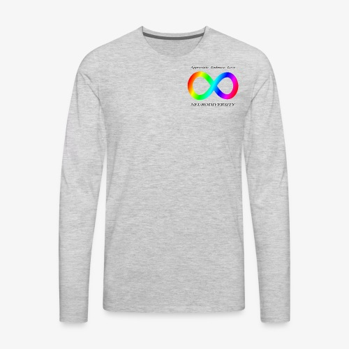 Embrace Neurodiversity - Men's Premium Long Sleeve T-Shirt
