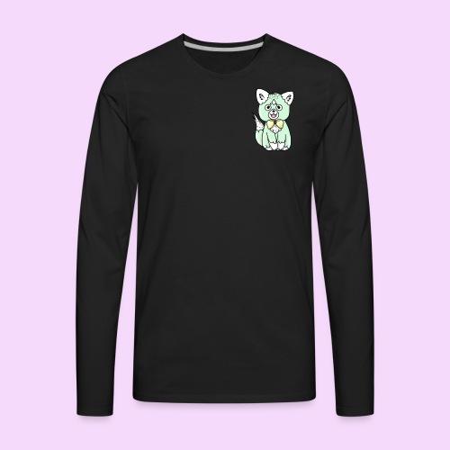 Lolipup Pack: Minty Pup! - Men's Premium Long Sleeve T-Shirt