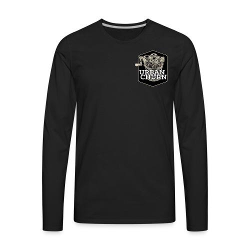 Urban Churn - Men's Premium Long Sleeve T-Shirt