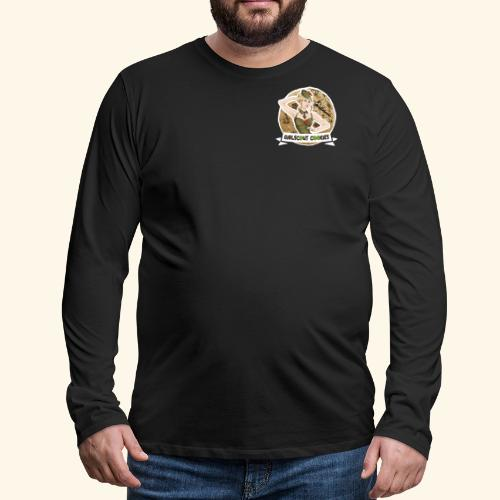GirlScout Cookies weed 420 québec chillicious - Men's Premium Long Sleeve T-Shirt