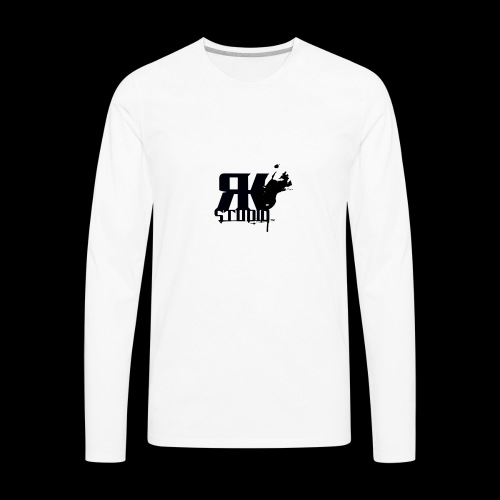 The World is My Garage - Men's Premium Long Sleeve T-Shirt