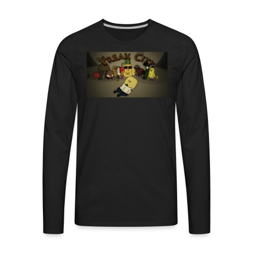Freak City Characters - Men's Premium Long Sleeve T-Shirt