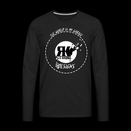 The World is My Garage - Men's Premium Long Sleeve T-Shirt