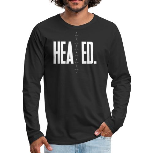 Healed - Men's Premium Long Sleeve T-Shirt