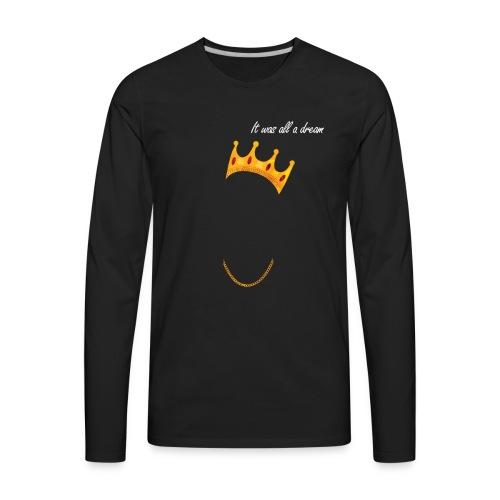 Biggie Iconic Shirt - Men's Premium Long Sleeve T-Shirt