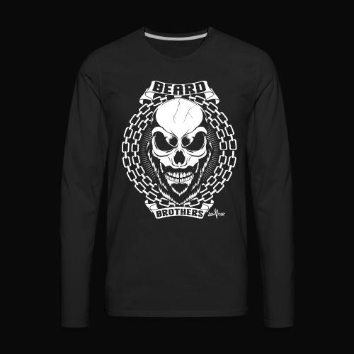 Beard Brothers T-shirt - Men's Premium Long Sleeve T-Shirt
