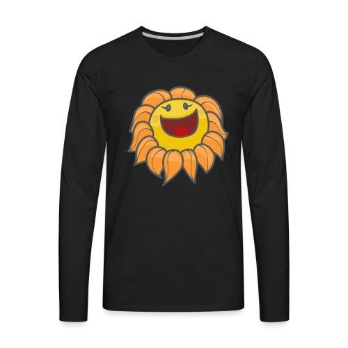 Happy sunflower - Men's Premium Long Sleeve T-Shirt