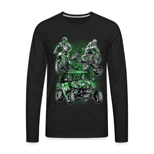 Extreme Moto Lifestyle - Men's Premium Long Sleeve T-Shirt