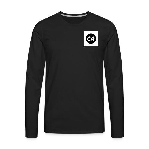CA Logo - Men's Premium Long Sleeve T-Shirt