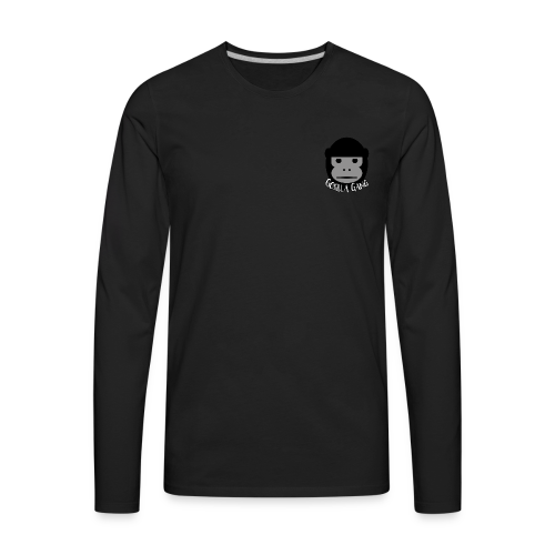 Gorilla Gang Original Insignia - Men's Premium Long Sleeve T-Shirt