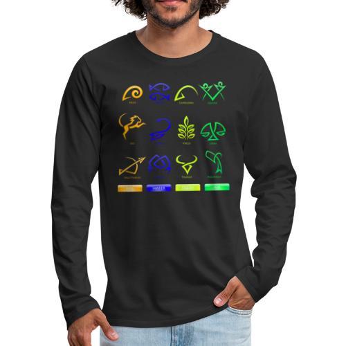 Horoscope - Men's Premium Long Sleeve T-Shirt