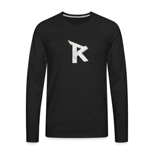 RaDe Militia Logo - Men's Premium Long Sleeve T-Shirt