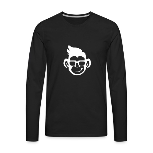 cool monkey - Men's Premium Long Sleeve T-Shirt