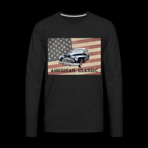 Classic Buick - Men's Premium Long Sleeve T-Shirt