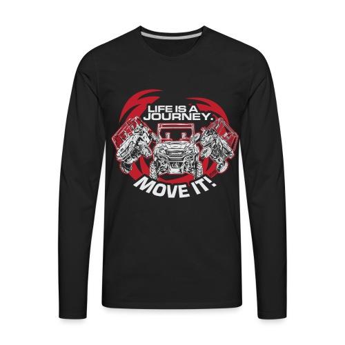 UTV Racing Life Journey - Men's Premium Long Sleeve T-Shirt