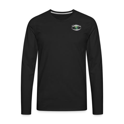Self Sufficient Me Logo white small coy design - Men's Premium Long Sleeve T-Shirt