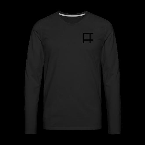 HUGE Logo - Men's Premium Long Sleeve T-Shirt