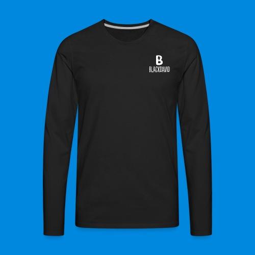 White blackdavid - Men's Premium Long Sleeve T-Shirt